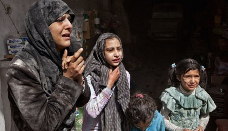 صورة 461 لاجئة فلسطينية قضوا جراء الحرب السورية