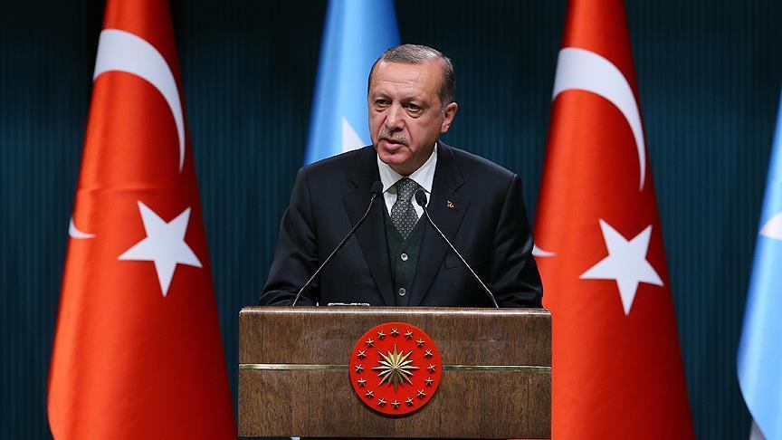 """صورة أردوغان يدعو ترمب لعدم التركيز على تنظيم """"الدولة"""" فقط"""