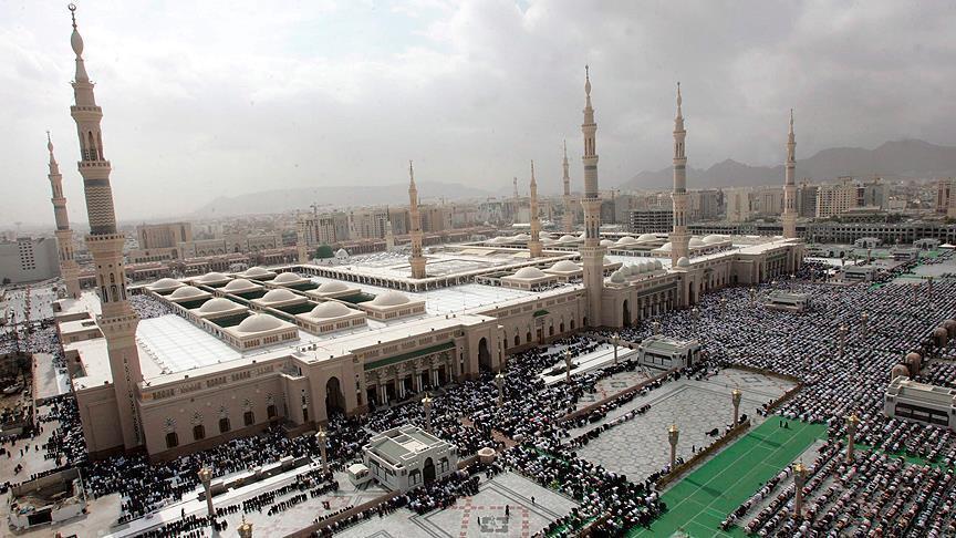 صورة القبض على 46 إرهابي قبيل مهاجمة المسجد النبوي