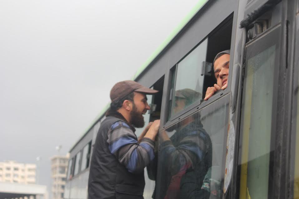 صورة بعد جرابلس..الدفعة الثالثة من مهجري الوعر تقصد إدلب