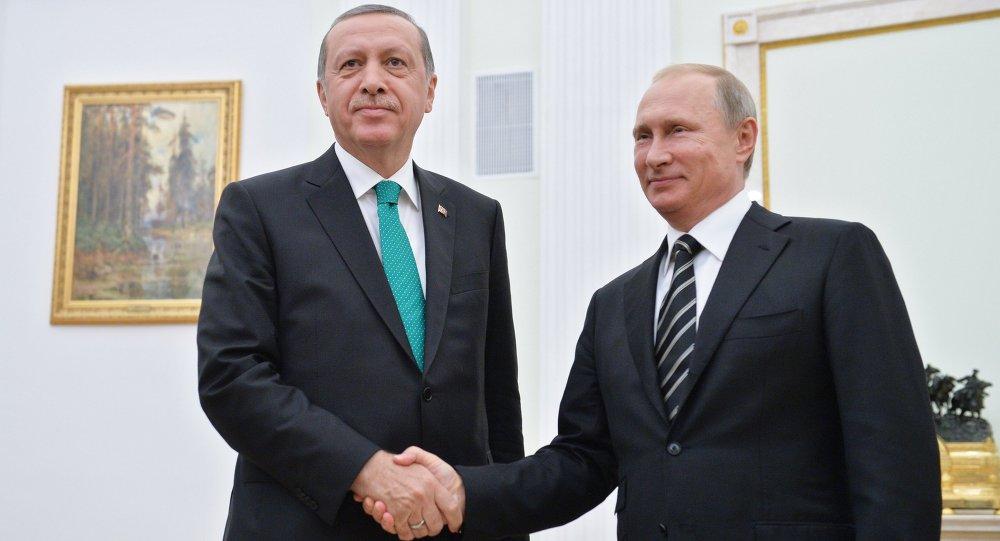 صورة أردوغان: الحل السياسي في سوريا هدف مشترك لتركيا وروسيا