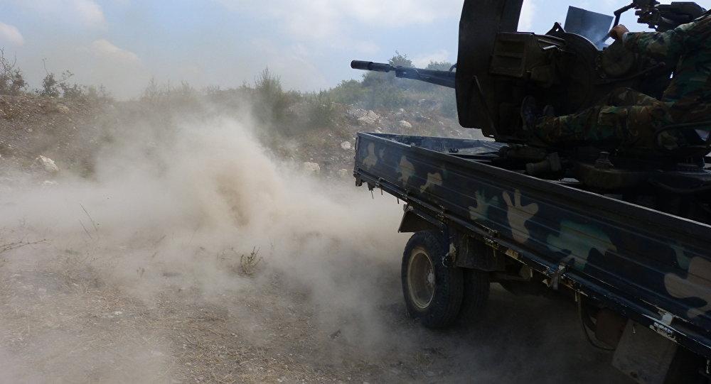 """صورة وكالة روسية: معركة """"القابون"""" عالمية وهو """"ستالينغراد"""""""