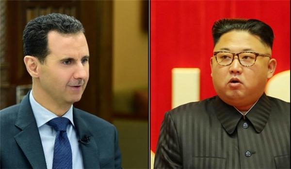 """صورة الأسد يراسل """"كيم جونغ""""..وهذا ما قاله"""
