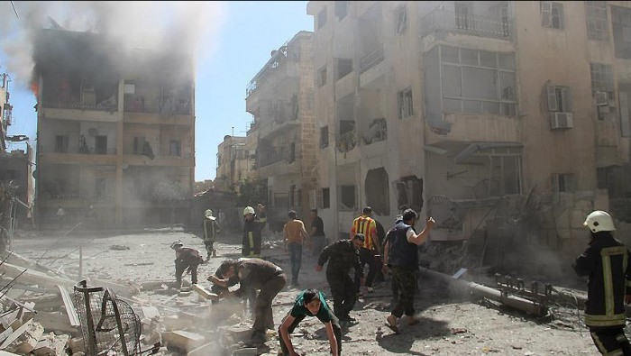 صورة نيسان.. الأكثر عنفاً على درعا منذ 2011