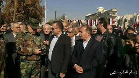 """صورة أركان الأسد تُكسر رتبة """"عراب التهجير"""""""