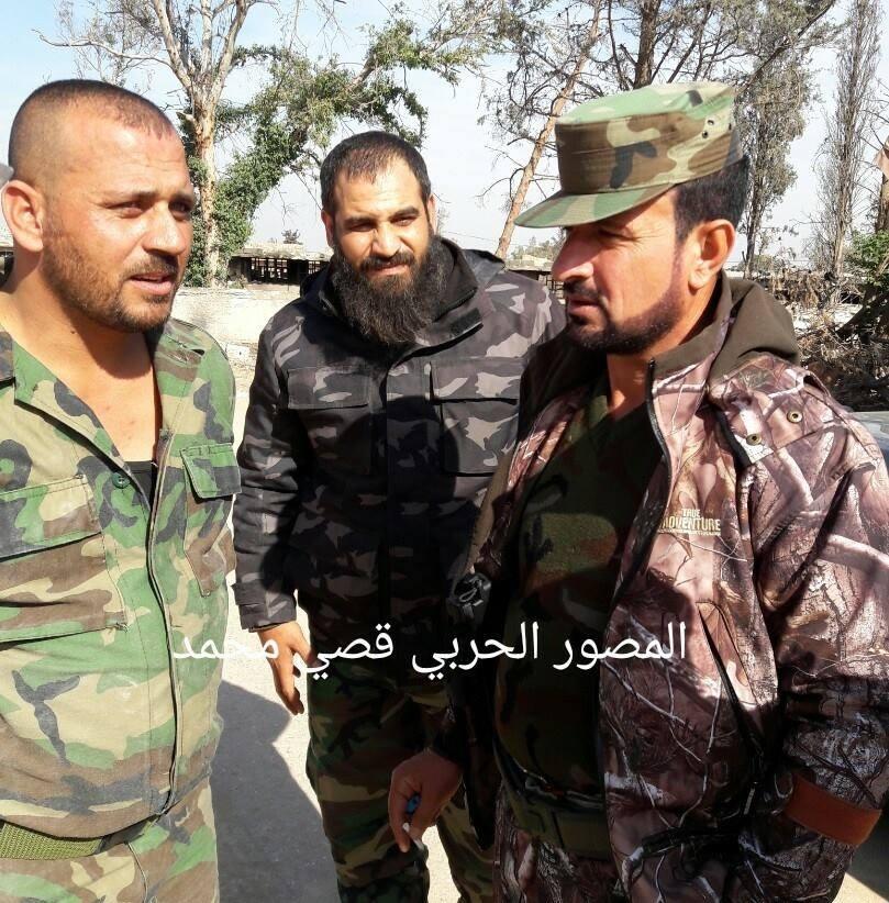 """صورة مصرع قيادي بارز في قوات """"النمر"""" برصاص تنظيم الدولة"""