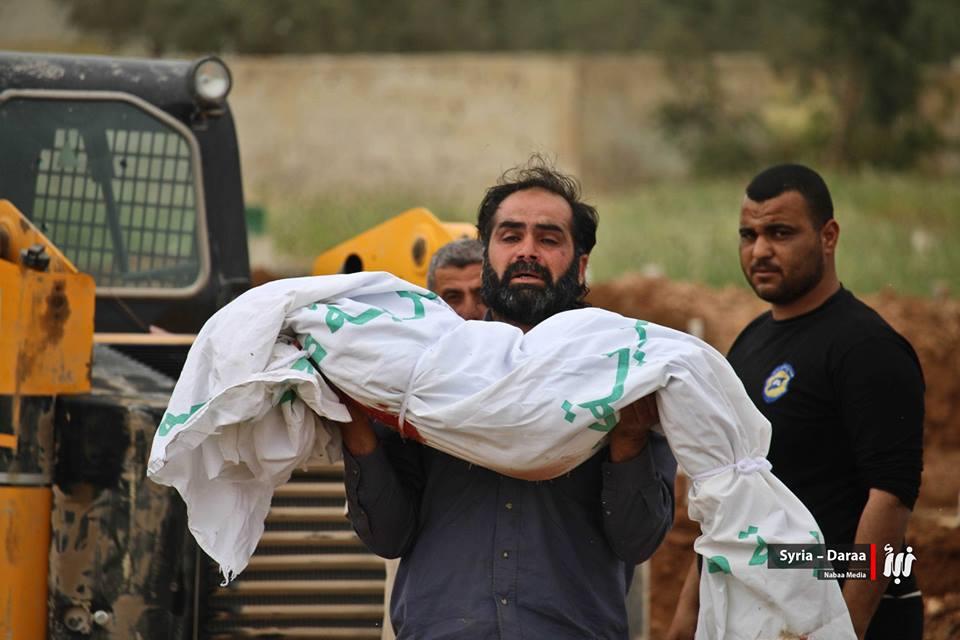 """صورة المعارضة: مجزرة درعا """"جريمة حرب"""""""