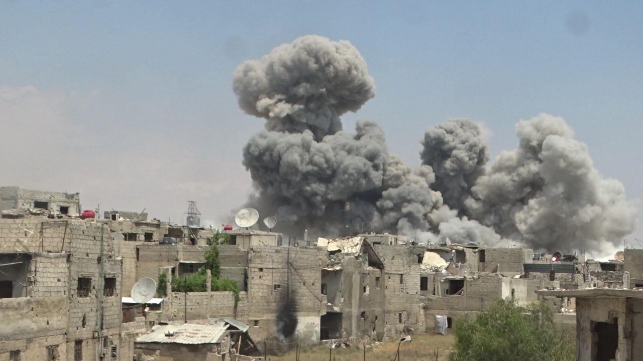 """صورة الأسد يخرق """"خفض التصعيد"""" بعدة مناطق"""