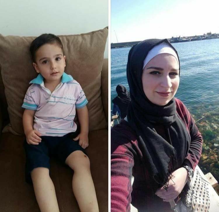 صورة مقتل طفل سوري على يد زوجة أبيه