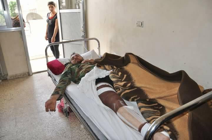 صورة هجوم مفاجئ لتنظيم الدولة على ريف السلمية يوقع عشرات القتلى