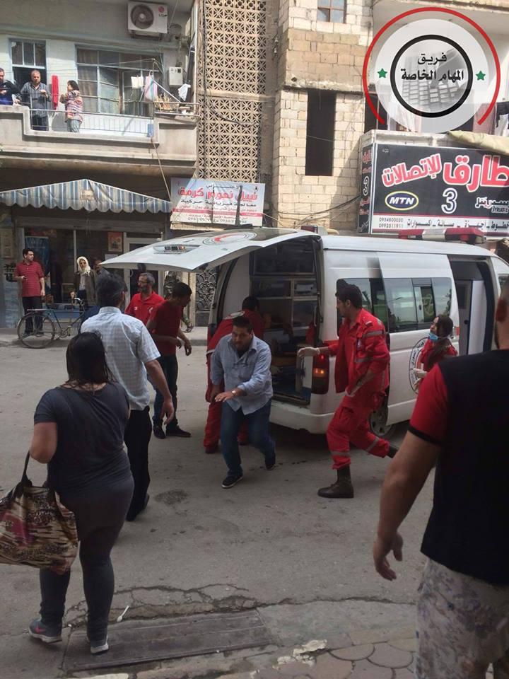 صورة مفخخة تضرب حي الزهراء الموالي بحمص