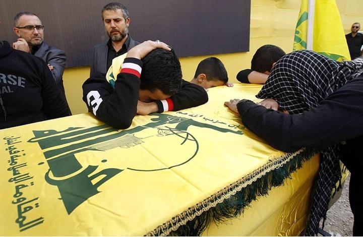 صورة مقتل قياديين لحزب الله بنيران التنظيم