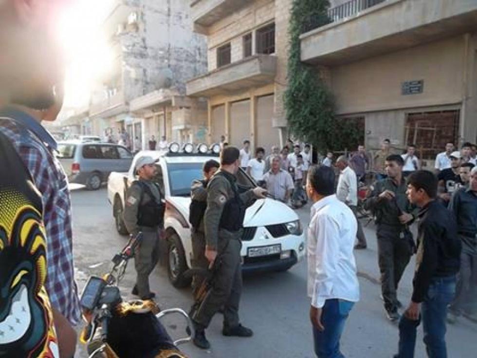 صورة المعارضة تطالب بإيقاف دعم الميليشيات الكردية