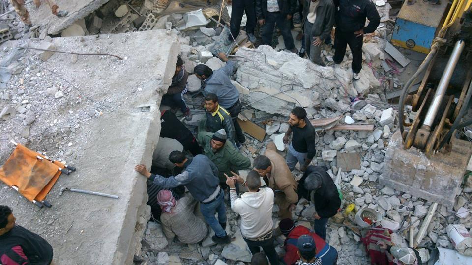 صورة %80 من مخيم درعا للاجئين دمره الأسد