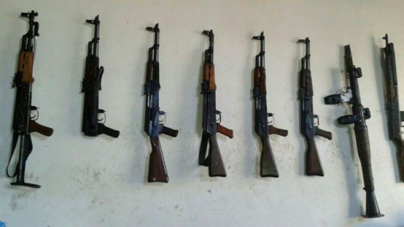 """صورة الحر يضبط تجارة السلاح العشوائية بـ""""نوى"""""""