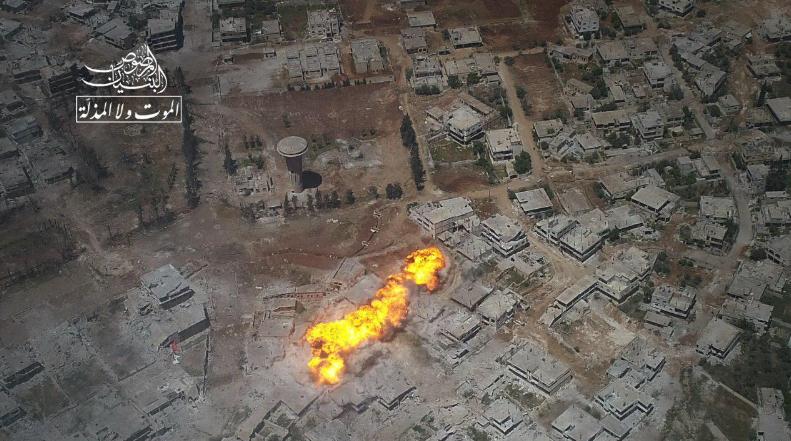 صورة خسائر المعارضة خلال 100 يوم من معركة درعا
