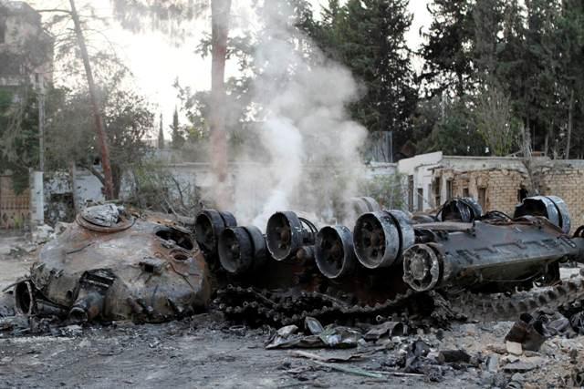 صورة غارة للتحالف الدولي تستهدف الأسد بالبادية