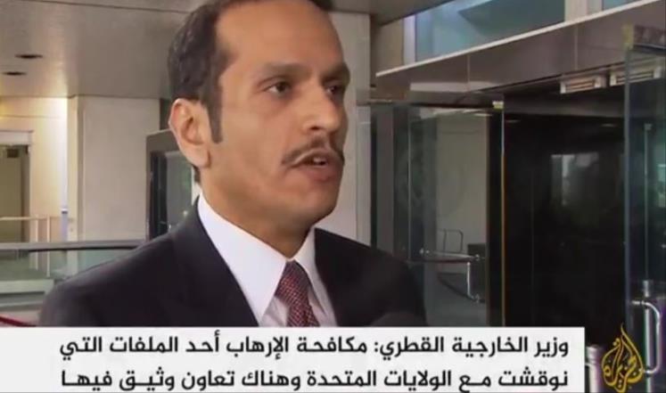 صورة قطر: اتفاق أستانا ليس بديلا عن رحيل الأسد