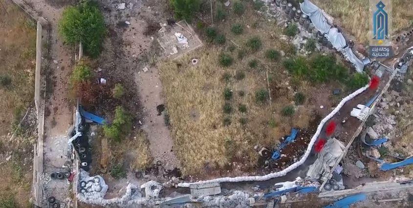 صورة مصرع 5 عناصر للنظام غربي حلب