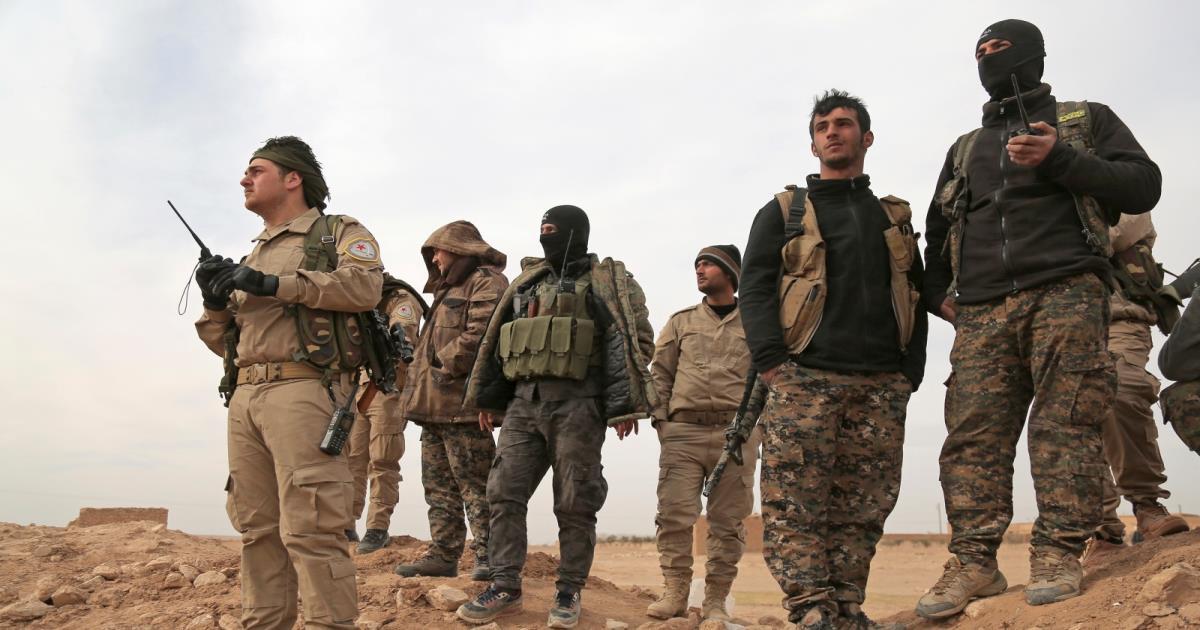 صورة تنظيم الدولة: قتلنا 100 من عناصر قوات قسد
