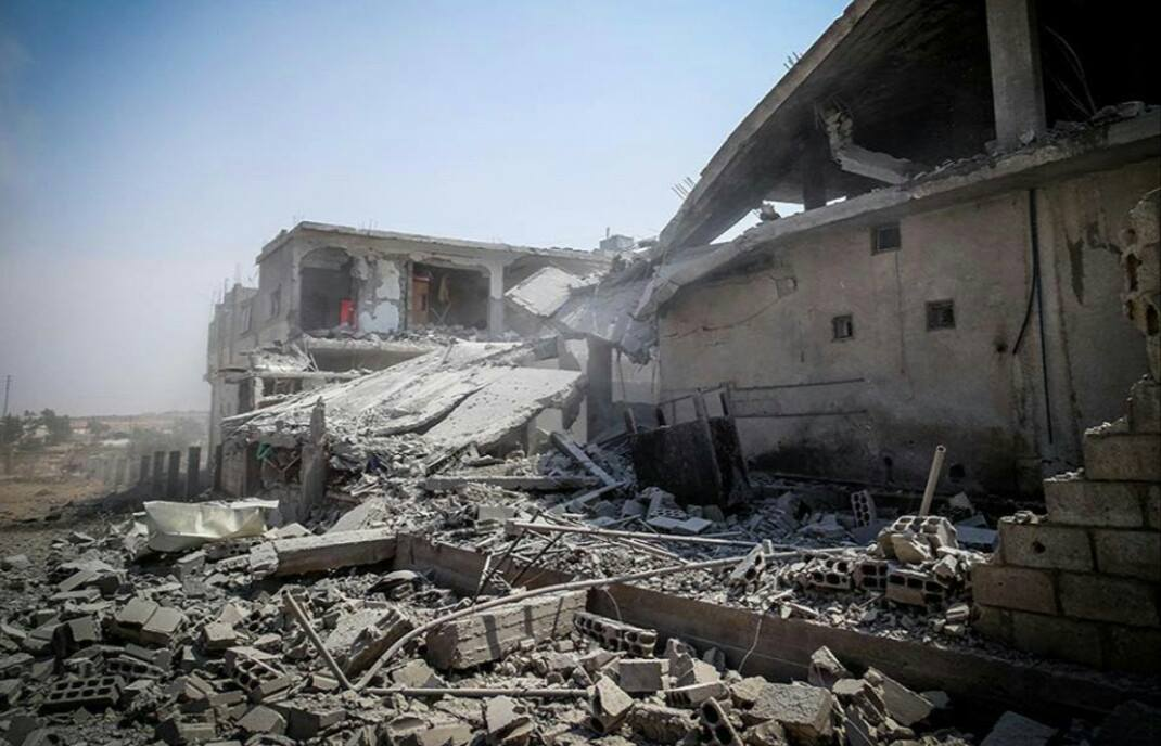 صورة خروقات عسكرية متواصلة للأسد بدرعا