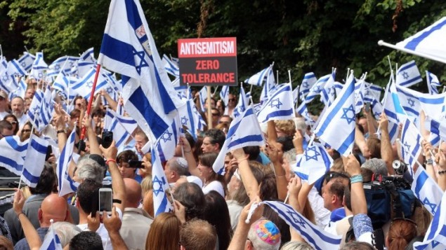 """صورة حرب أهلية قادمة داخل """"إسرائيل"""""""
