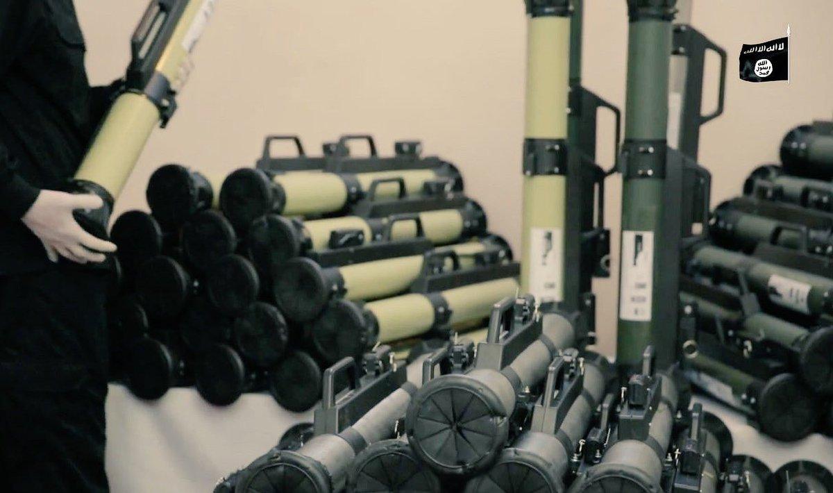 صورة تنظيم الدولة يصنّع قذائف متطورة ويطوّر مضادات (صور)