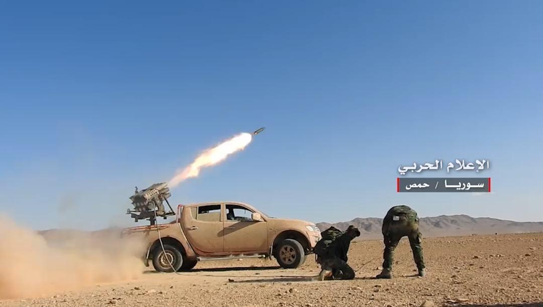 صورة الفوسفات والقلمون..أهداف للأسد وحلفائه