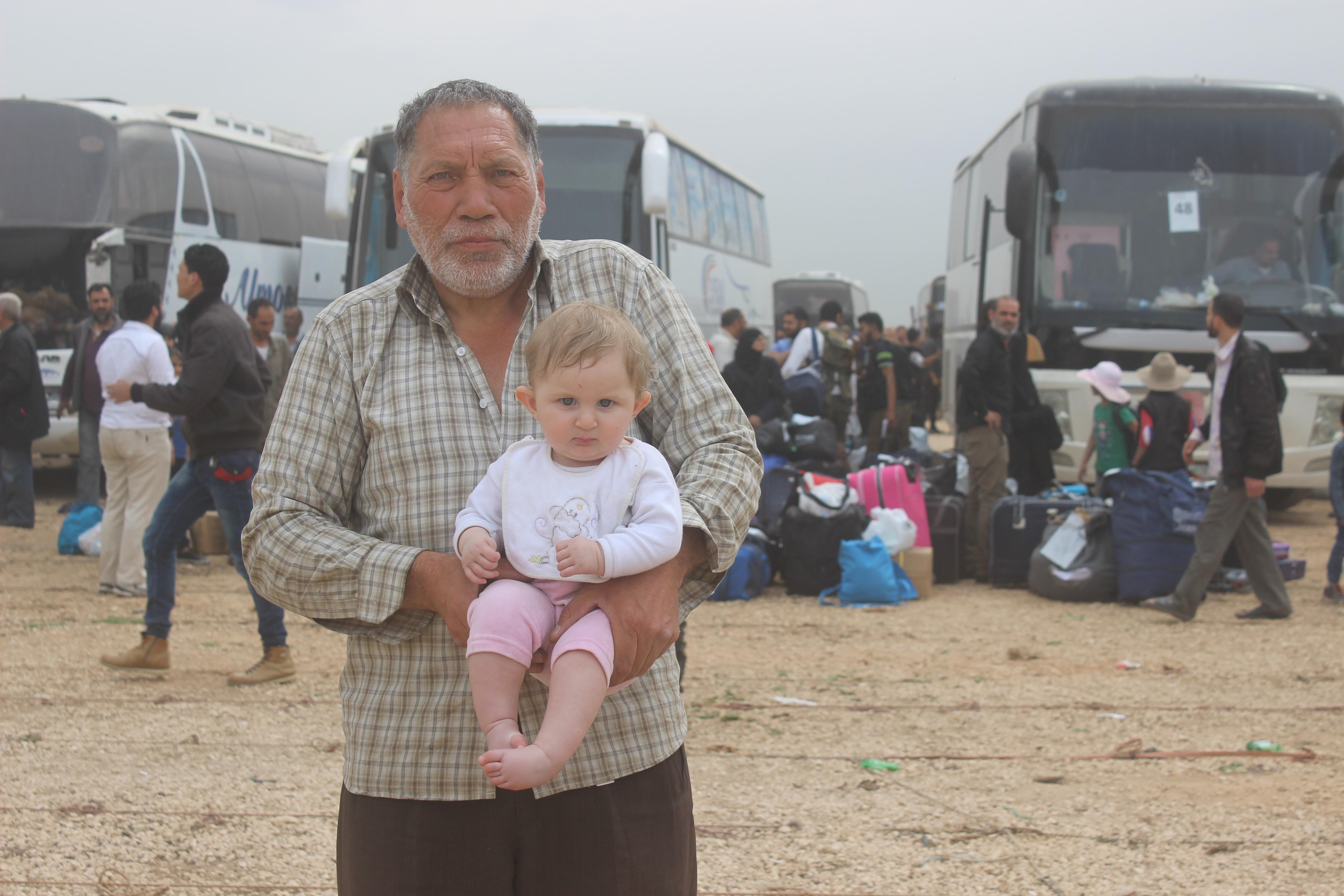 صورة عاصمة الثورة السورية تفقد آخر قلاعها