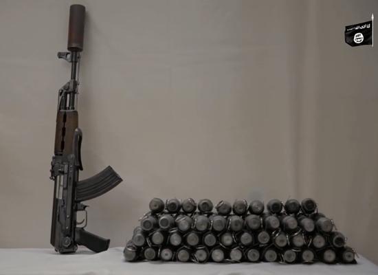 """صورة البنتاغون: """"داعش"""" يشكل فصيل مختص بالأسلحة الكيميائية"""