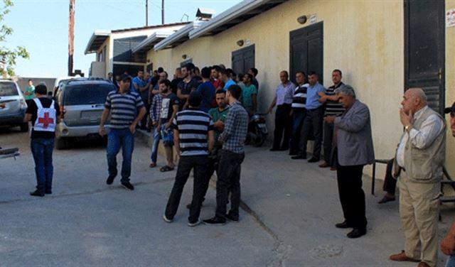 """صورة لبنان يستقبل جرحى """"الحر"""" بعد قتالهم تنظيم """"الدولة"""""""