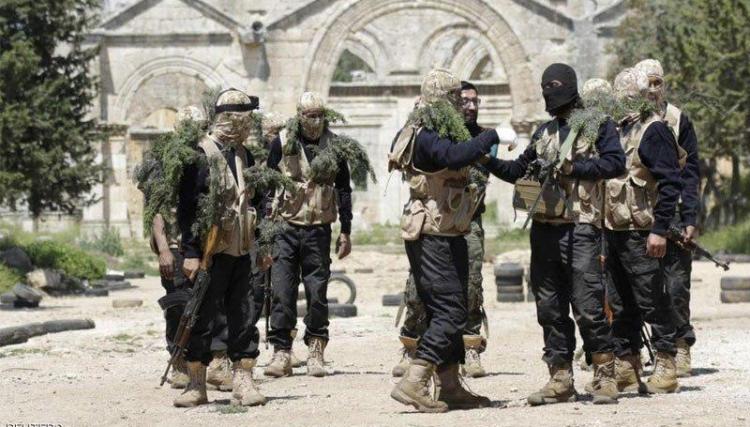 صورة مصدر: تحضيرات عسكرية ضد تنظيم الدولة بمخيم اليرموك