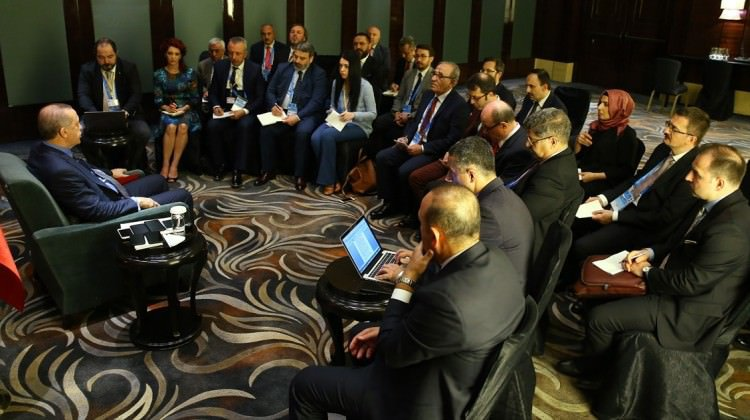 صورة أردوغان: تجنيس السوريين واجب إنساني وإسلامي