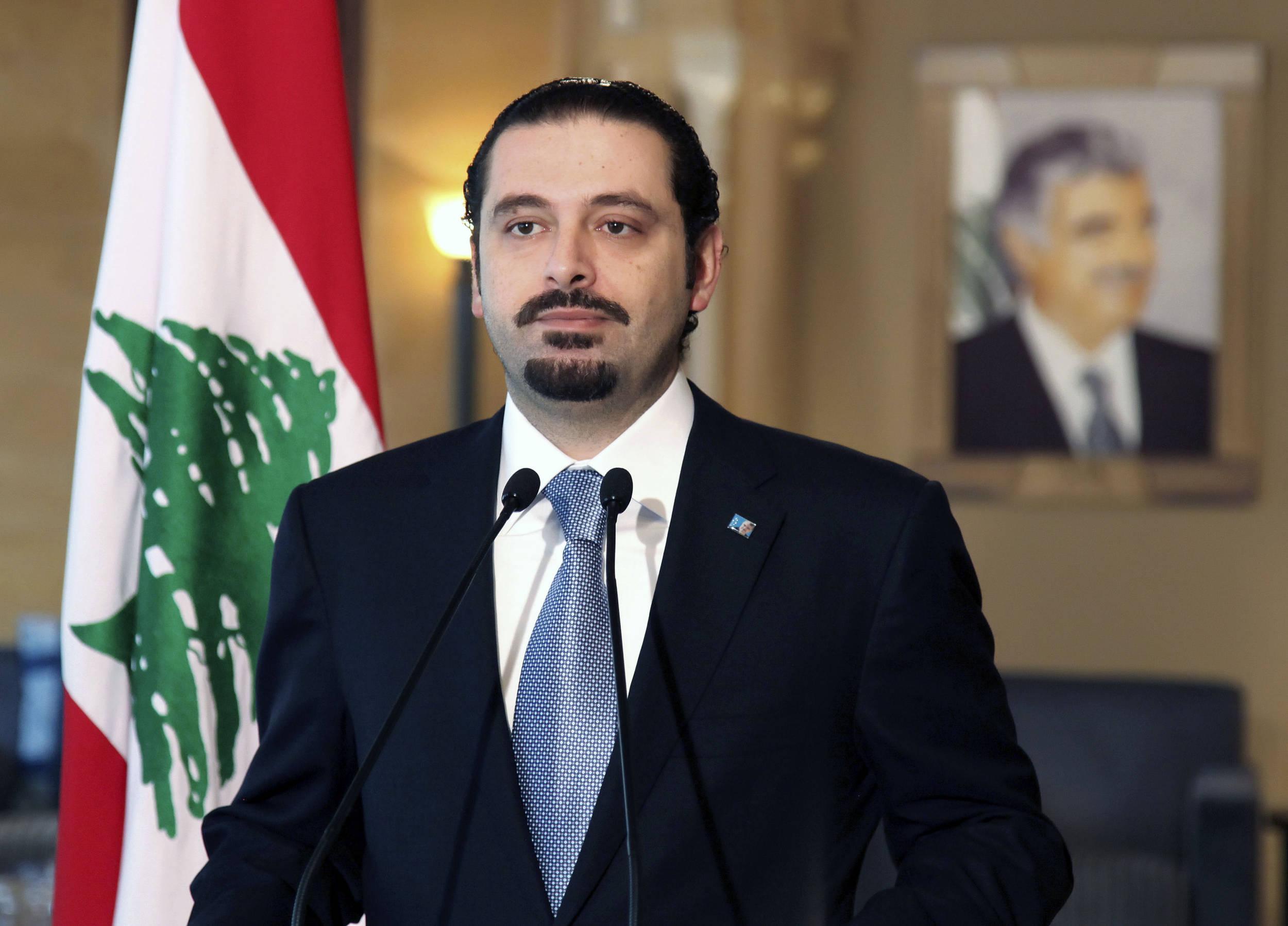 صورة الحريري: لبنان خسر 25 مليار دولار جراء الأزمة السورية