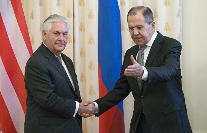 صورة مباحثات أمريكية روسية حول اتفاق أستانا