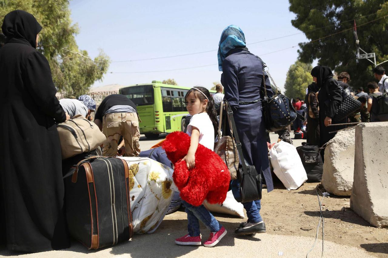 صورة إرهاب الأسد على مناطق المصالحات يتضاعف