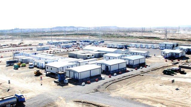 """صورة مساعدات تركية لمليون سوري وشركات ترسل """"حمامات"""""""