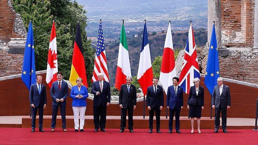صورة مجموعة السبع تطالب إيران وروسيا بالضغط على الأسد