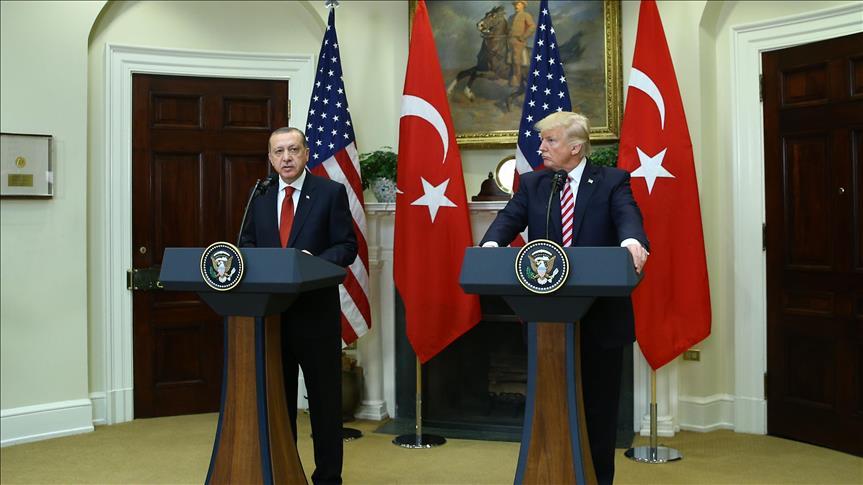 صورة اتفاق أمريكي تركي على محاربة الإرهاب وضمانات حول الأكراد