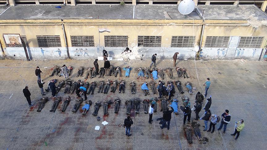 صورة واشنطن: الأسد أحرق جثث معتقلي صيدنايا