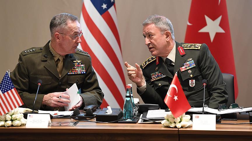 صورة واشنطن وأنقرة تبحثان مكافحة الإرهاب بسوريا والعراق