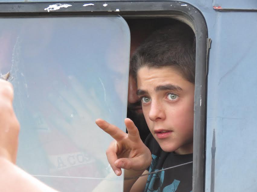 صورة مهجرو القابون يصلون إدلب (صور)