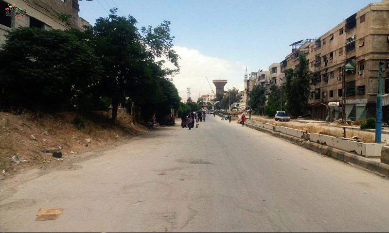 صورة الأتاوة مقابل الطعام في دمشق