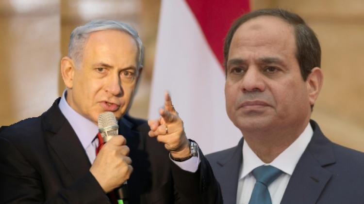 """صورة لقاء سري جمع """"نتنياهو"""" بـ """"السيسي"""" بالقاهرة"""
