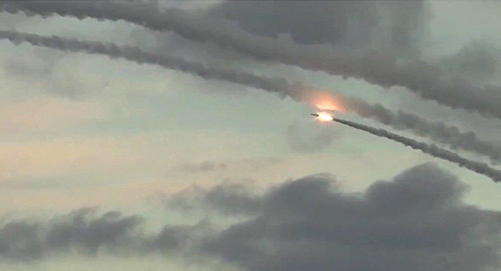 صورة صواريخ روسية البحرية قتلت مدنيين