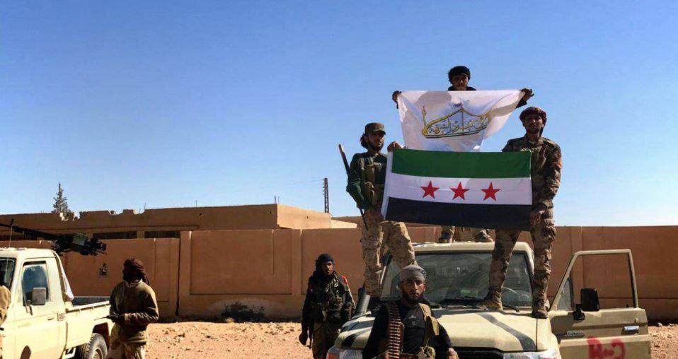 """صورة الحر يدمر طائرة للأسد ويكبد """"حزب الله"""" خسائر في البادية"""