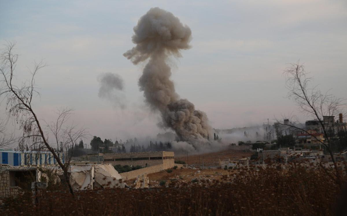 صورة قوات النظام تقصف جبال التركمان
