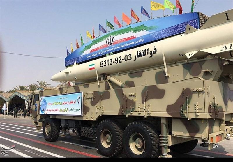 صورة صواريخ إيران لم تصب أي هدف وبعضها لم يصل لسوريا!