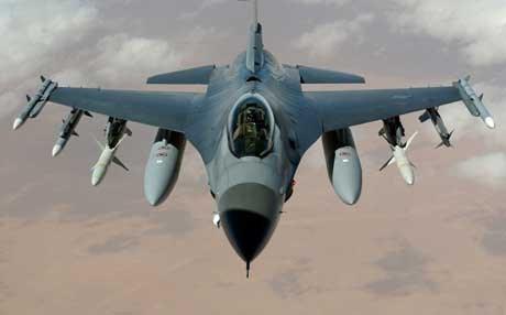 صورة التحالف يسقط طائرة مسيرة لنظام الأسد