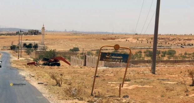 صورة بعد 1500 يوم نزوح..أهالي مخيم حندرات يناشدون